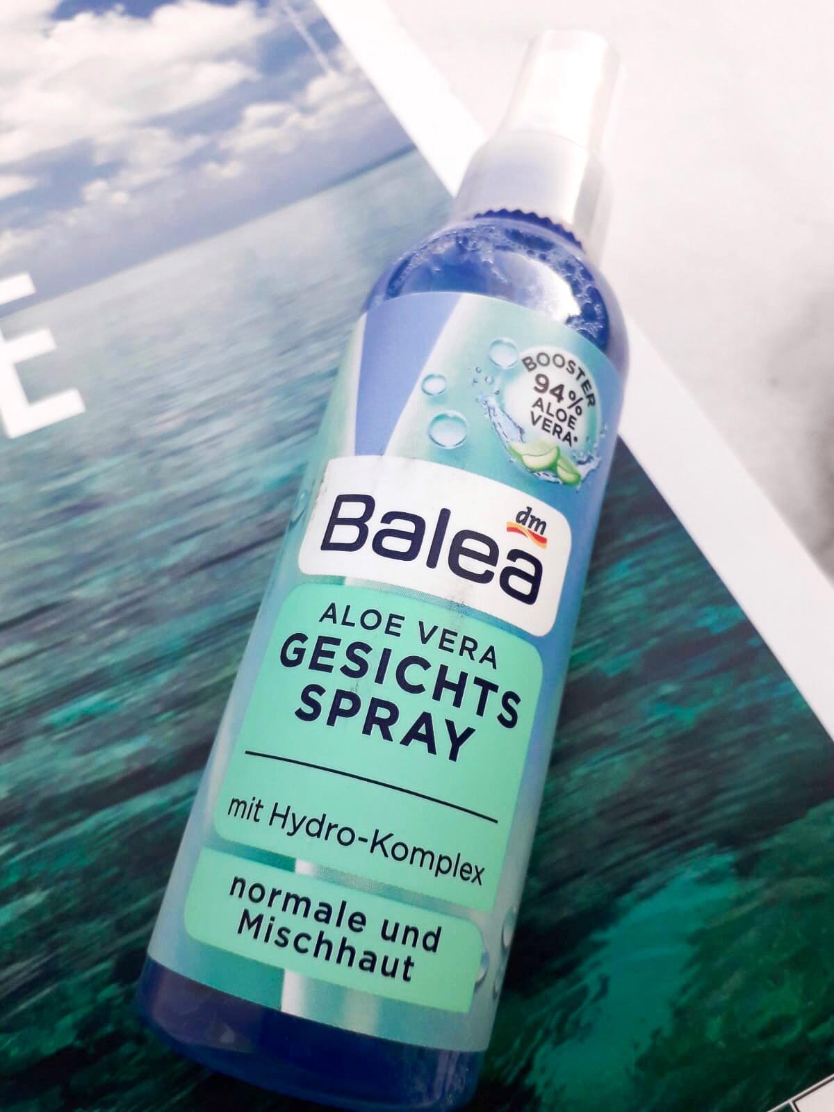 Balea sprej za lice s aloe verom