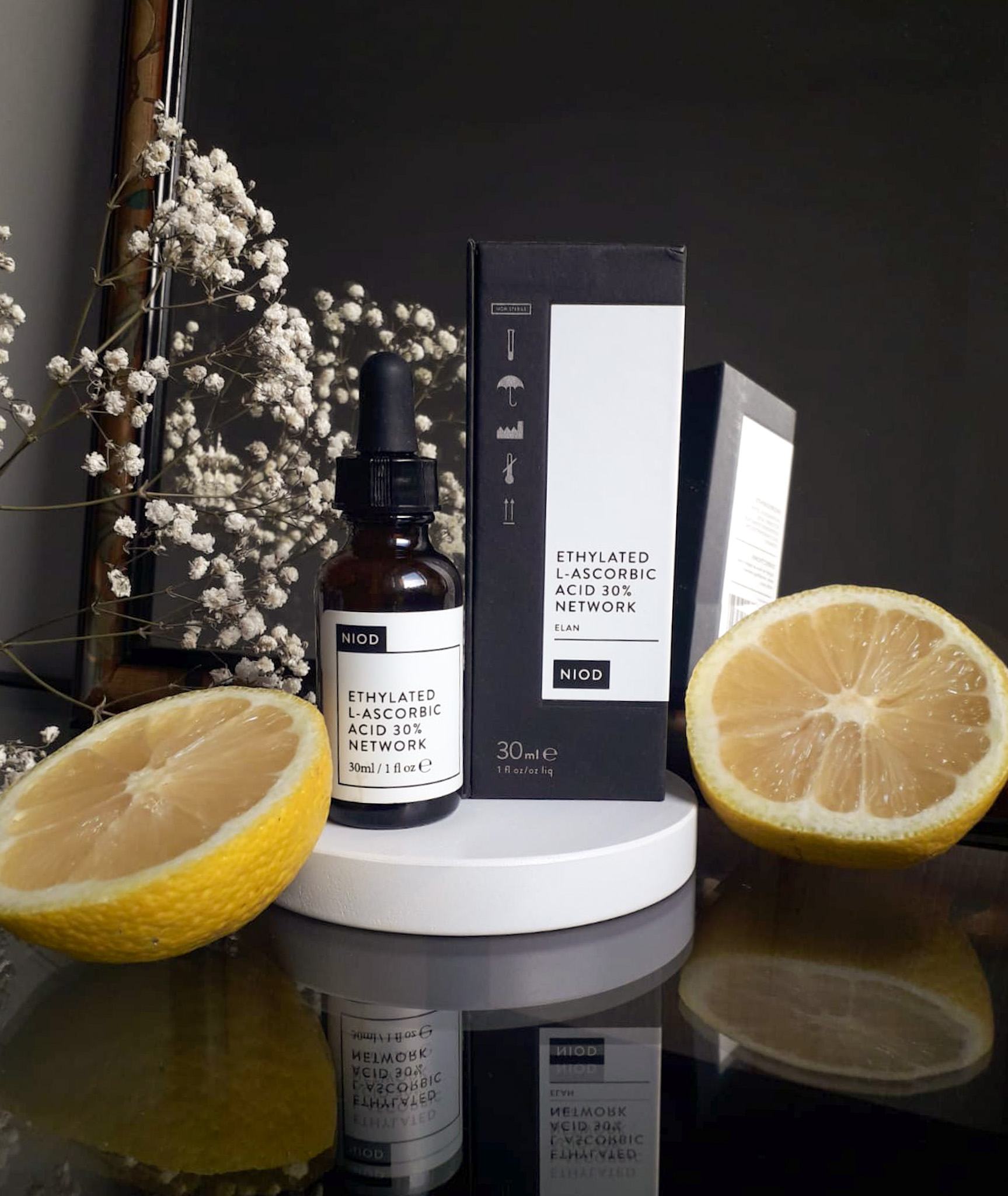 NIOD Ethylated L-Ascorbic Acid 30% Network_ELAN_Recenzija