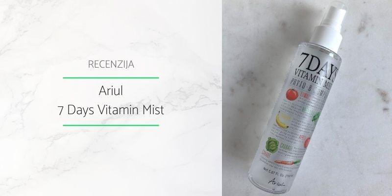 Ariul_7 Days Vitamin Mist Recenzija