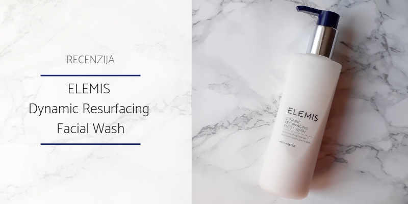 Recenzija_ELEMIS Dynamic Resurfacing Facial Wash