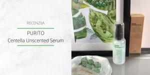 Purito Centella Unscented Serum Recenzija