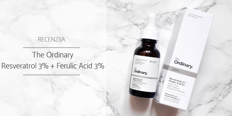 The Ordinary_Resveratrol 3% + Ferulic Acid 3%_Recenzija