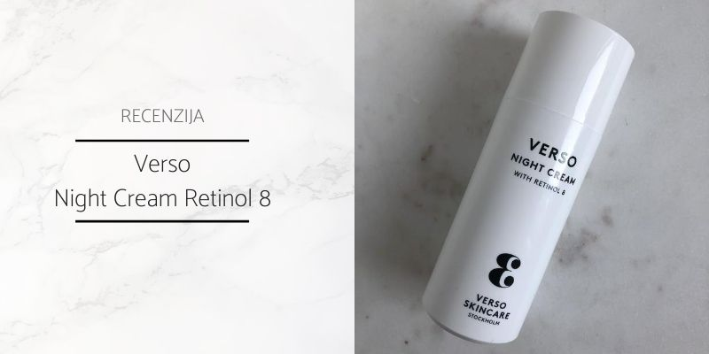 Verso Night Cream Recenzija